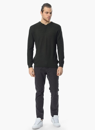 George Hogg Slim Fit Chino Pantolon Kahve